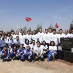 Axalta Employees Gather For Tree Planting In Northern China